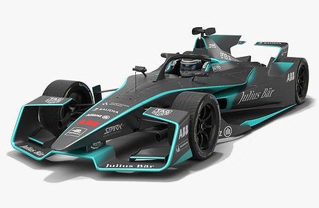 Gen2 EVO Formula E Season 2020 2021 Low-poly PBR 3D model