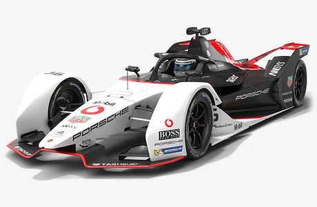 Porsche Formula E Team Season 2019 2020 Low-poly PBR 3D model