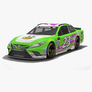 BK Racing Gray Gaulding NASCAR Season 2017 3D model