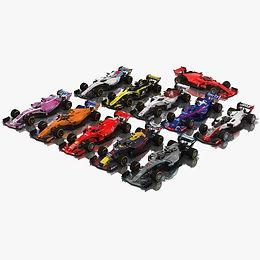 Formula 1 2018 3D model