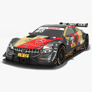 Mercedes-AMG C63 DTM #48 Edoardo Mortara Season 2018 3D model
