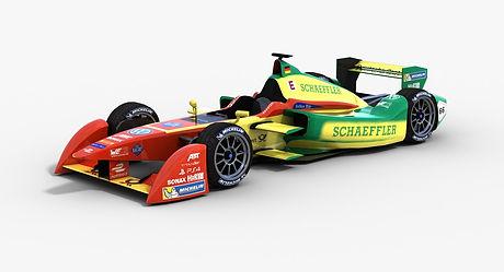 ABT Schaeffler Audi Sport Formula E Season 2015 2016 3D model