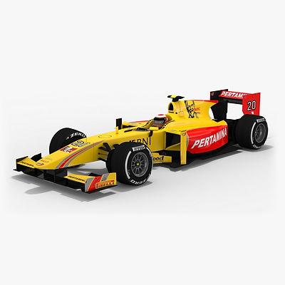 Pertamina Arden Formula 2 Season 2017 3D model