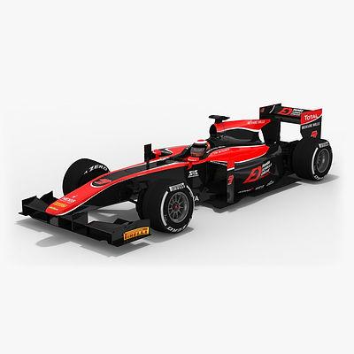 ART Grand Prix Formula 2 Season 2017 3D model