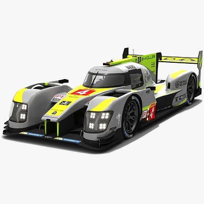 ByKolles Racing Team LMP1 WEC Season 2018 2019 3D model