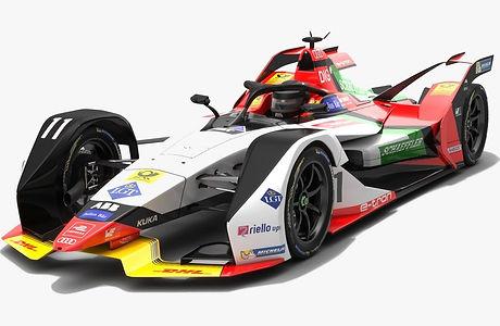 Audi Sport ABT Schaeffler Formula E Team Season 2018 2019 3D model