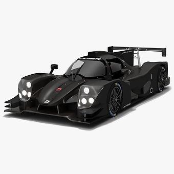 Ligier JS P320 LMP3 Season 2020 2021 Low-poly PBR 3D model