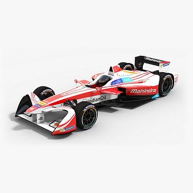 Mahindra Racing Formula E Season 2016 2017 3D model