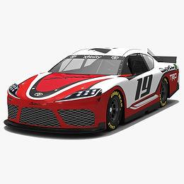 NASCAR Toyota Supra Season 2019 Low-poly PBR 3D model