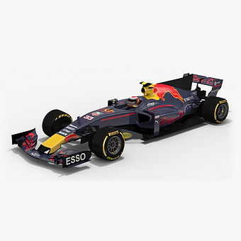 ​GreyCat GC13 Formula 1 Season 2017 3D model