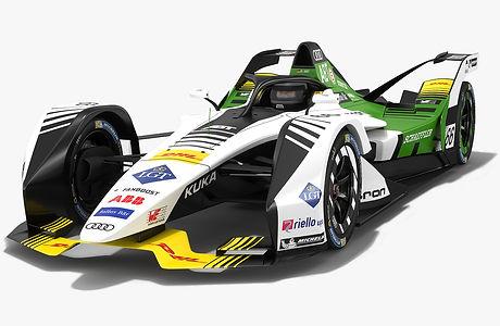 Gen2 Audi Sport Schaeffler Formula E 2018 2019 3D model