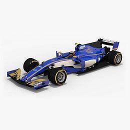 Sauber F1 Team C36Season 2017 3D model