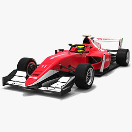 W Series Tatuus T-318 Season 2019 Race Car #11 3D model