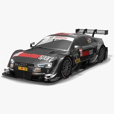 Audi Sport Team Phoenix 10 DTM Season 2016 3D model