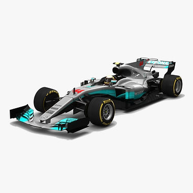 Mercedes W08 EQ Power+ Formula 1 Season 2017