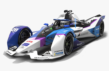 Andretti Motorsport Formula E Season 2020 2021 Race Car Low-poly PBR 3D model