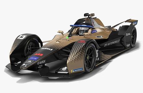 DS Techeetah Formula E Season 2020 2021 Race Car Low-poly PBR 3D model
