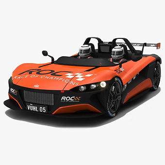 VUHL 05 ROC Edition 2019 Race Car Low-poly 3D model