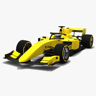 Formula 2 Dallara F2 2019 Season 2018 Low-poly PBR 3D model