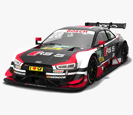 Audi RS5 DTM #28 Loic Duval Season 2018 3D model
