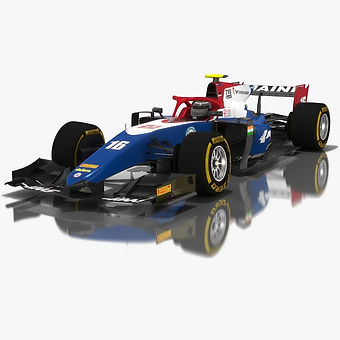 Trident Formula 2 Season 2018 3D model
