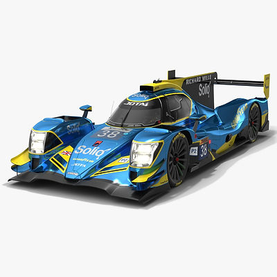 Jota Sport WEC LMP2 Season 2019 2020 Low-poly PBR 3D model