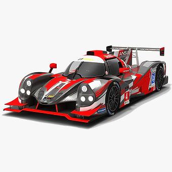 ANSA Motorsports #4 IMSA Prototype Challenge Season 2019 3D model