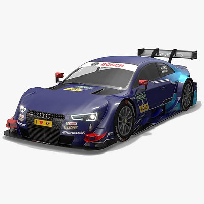 Audi Sport Team Abt Sportsline 5 DTM Season 2016 3D model