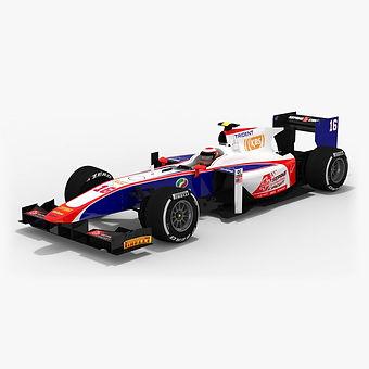 Trident Formula 2 Season 2017 3D model