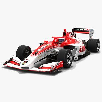 Kondo Racing #3 Super Formula Season 2019 Low-poly 3D model