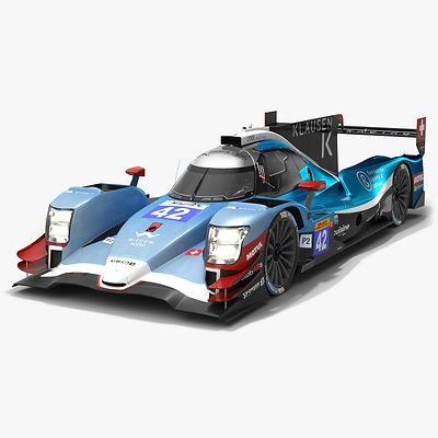 Cool Racing WEC LMP2 Season 2019 2020 Low-poly PBR 3D model