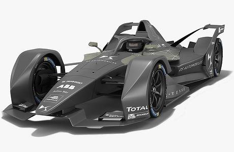 Gen2 DS Performance Formula E 2018 2019 3D model