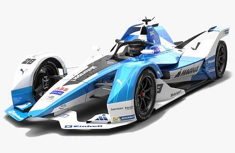 Andretti Motorsport Formula E Season 2018 2019 3D model