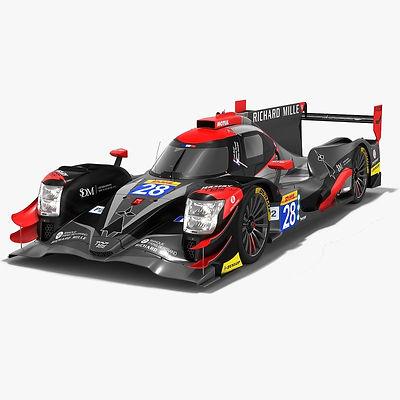 TDS Racing Oreca 07 LMP2 WEC Season 2018 2019 3D model