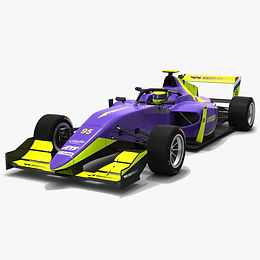 W Series Tatuus T-318 Season 2019 Race Car #95 3D model