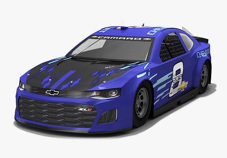NASCAR Chevrolet Camaro ZL1 race car Season 2018 3D model