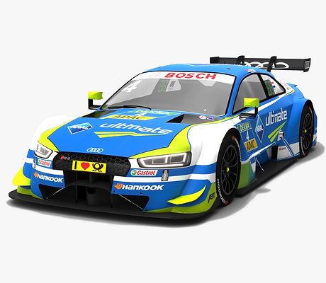 Audi RS5 DTM #4 Robin Frijns Season 2018 3D model