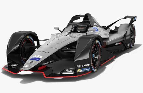 Gen2 Nissan Formula E Concept Car 2018 2019 3D model