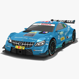 Mercedes-AMG C63 DTM #2 Gary Paffett Season 2018 3D model