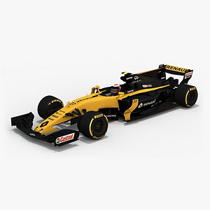 ​Renault Sport F1 Team R.S.17 Season 2017 3D model