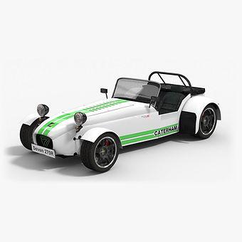 Caterham Seven R270 Low-poly 3D model