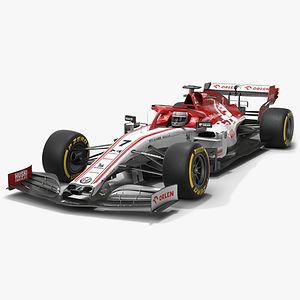 Alfa Romeo Racing F1 C39 Formula 1 Season 2020 Low-poly PBR  3D model