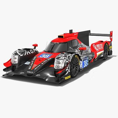 Jackie Chan DC Racing Oreca 07 LMP2 WEC Season 2018 2019 3D model