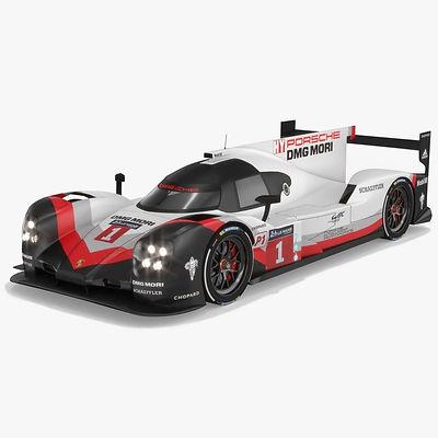 Porsche 919 Hybrid LMP1 WEC Season 2017 3D model