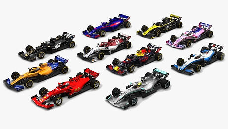 Formula 1 Season 2019 Race Car 3D model