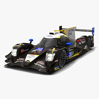 Performance Tech Motorsports #38 Oreca 07 IMSA Season 2019 3D model