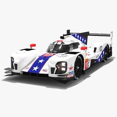 DragonSpeed BR Engineering BR1 LMP1 WEC Season 2018 2019 3D model