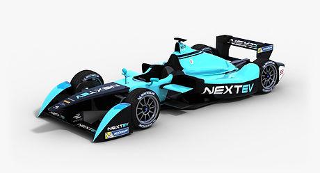 NEXTEV TCR Formula E Season 2015 2016 3D model