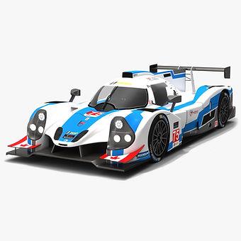 Performance Tech Motorsports #75 IMSA Prototype Challenge 3D model