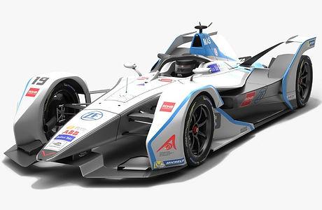 Venturi Formula E Team Season 2018 2019 3D model